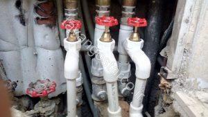 پیمانکاری لوله کشی آب سرد و گرم
