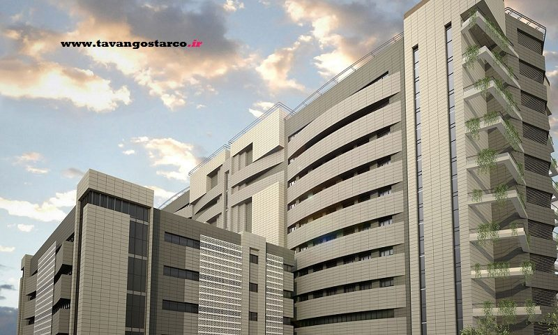پروژه عمرانی بیمارستان شهدای تجریش